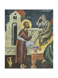 Christ Washing the Feet of the Apostles, 16th Century Giclee Print