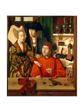 A Goldsmith in His Shop Giclee Print by Petrus Christus