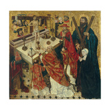 The Mass of Saint Gregory the Great Giclee Print by Diego De La Cruz