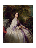 Portrait of Countess Maria Ivanovna Lamsdorf, Née Beck, 1859 Giclee Print by Franz Xavier Winterhalter