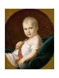 Napoléon François Bonaparte, Duke of Reichstadt, King of Rome Giclee Print by François Pascal Simon Gérard