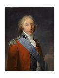 Charles-Philippe De France, Count of Artois (1757-183) Giclee Print by Henri-Pierre Danloux