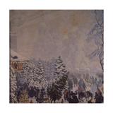 Christmas Market, 1918 Giclee Print by Boris Michaylovich Kustodiev
