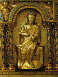 The Shrine of Charlemagne, Detail: Frederick II, Holy Roman Emperor, 1215 Giclee Print