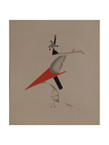 Ruffian, Figurine for the Opera Victory over the Sun by A. Kruchenykh, 1920-1921 Giclee Print by El Lissitzky