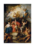 The Glorification of Louis Xiv Giclee Print by Antoine Coypel