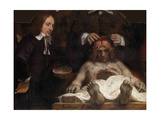 The Anatomy Lesson of Dr. Jan Deijman, 1656 Giclee Print by  Rembrandt van Rijn