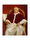 Portrait of Pope Gregory XVI (1765-184) Giclee Print by Paul Hippolyte Delaroche