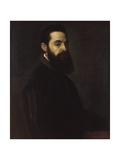 Portrait of Antonio Anselmi Giclée-tryk af  Titian (Tiziano Vecelli)