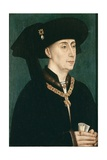Portrait of Philip the Good (1396-146), after 1450 Gicléetryck av Rogier van der Weyden