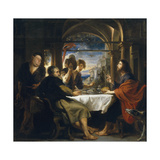 The Supper at Emmaus, 1638 Giclee Print by Pieter Paul Rubens
