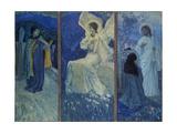 The Resurrection Giclée-tryk af Mikhail Vasilyevich Nesterov