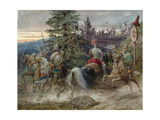 The Road to Chernomor Giclee Print by Adolf Charlemagne