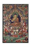Shakyamuni Buddha Giclée-tryk