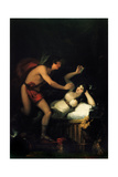 Allegory of Love (Cupid and Psych) Giclee Print by Francisco de Goya