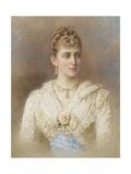 Portrait of Grand Duchess Elizaveta Fyodorovna Giclee Print by Stepan Fyodorovich Alexandrovsky