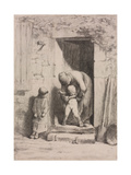 Maternal Solicitude Giclee Print by Jean-François Millet