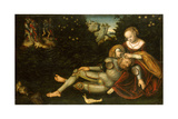 Samson and Delilah Giclee Print by Lucas Cranach the Younger