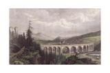 Southern Railway, Viaduct Payerbach, Semmering Reproduction procédé giclée
