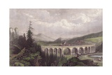 Southern Railway, Viaduct Payerbach, Semmering Giclee Print