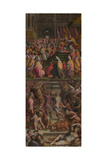 Pope Clement VII Crowned Charles V in Bologna, 1556-1562 Giclee Print by Giorgio Vasari