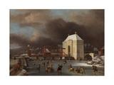 View of the Heiligewegspoort in Amsterdam Giclee Print by Jan van Kessel