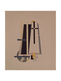 Coffin-Makers, 1920-1921 Giclee Print by El Lissitzky