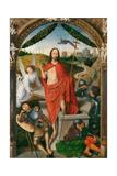 Triptych of the Resurrection Giclée-tryk af Hans Memling