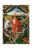 Triptych of the Resurrection Wydruk giclee autor Hans Memling