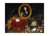 Allegory of Louis XIV, Protector of Arts and Sciences Giclee Print by Jean Garnier
