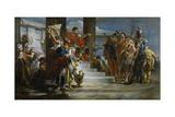 Scipio Africanus Freeing Massiva Giclee Print by Giambattista Tiepolo