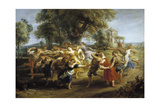 Peasant Dance, 1630-1635 Giclee Print by Pieter Paul Rubens