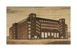 Aeg High Tension Factory, Berlin Giclee Print by Peter Behrens