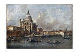 Santa Maria Della Salute in Venice Giclee Print by Francesco Guardi