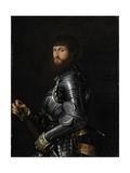 Portrait of a Nobleman in Armour, Between 1540 and 1560 Giclee Print by Giovan Battista Moroni