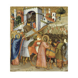 Christ on the Road to Calvary Giclee Print by Andrea di Bartolo