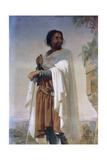Hugues De Payens, Grand Master of the Knights Templar Giclee Print by Henri Lehmann