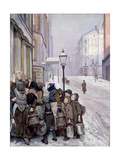 Struggle for Survival Giclee Print by Christian Krohg