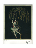 Tamara Karsavina in the Ballet the Firebird Giclee Print by George Barbier