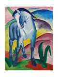Blå häst I Gicléetryck av Franz Marc