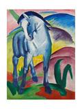 Sininen hevonen I Giclée-vedos tekijänä Franz Marc
