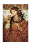 The Loving Cup, Ca 1867 Giclee Print by Dante Gabriel Rossetti