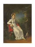Caroline Bonaparte (1782-183), Queen of Naples and Sicily, in the Bois De Boulogne, 1820-1830 Giclee Print by François Pascal Simon Gérard