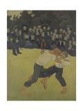 Breton Wrestling, 1890-1891 Giclee Print