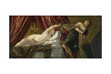 Joseph and Potiphar's Wife Giclee Print by Jacopo Tintoretto