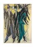Berlin Street Scene Giclee Print by Ernst Ludwig Kirchner