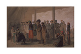 The Interrogation, 1855 Giclee Print by Vasily Timm
