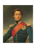 Portrait of Otto, King of Greece, 1832 Giclee Print by Joseph Karl Stieler