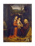 The Rest on the Flight into Egypt Giclee Print by Andrea Solari