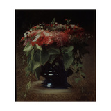 Bunch of Flowers. Phloxes, 1884 Giclee Print by Ivan Nikolayevich Kramskoi